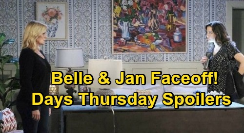 Days of Our Lives Spoilers: Thursday, October 22 – Jan's Horrific Belle Surprise – Gwen Saves Chad – John Panics Over Marlena
