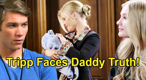 Days of Our Lives Spoilers: Tripp Runs Into Allie In Salem - Stunned To Learn He's Father To Her Newborn Baby Boy?