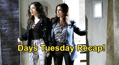 Days of Our Lives Spoilers: Tuesday, August 4 Recap - Ciara & Hope's Discovery - Allie Decides - Chloe Describes Eve's Breakdown