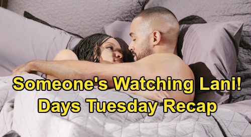 Days of Our Lives Spoilers: Tuesday, June 23 Recap - Someone's Watching Lani - Victor Lies Like a Cheap Rug - Allie's Mind Made Up