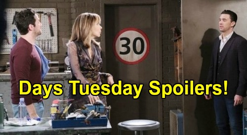 Days of Our Lives Spoilers: Tuesday, October 13 Recap - Kristen Confesses - Gwen Plots Big Reveal - Jake Lashes Out At Chad