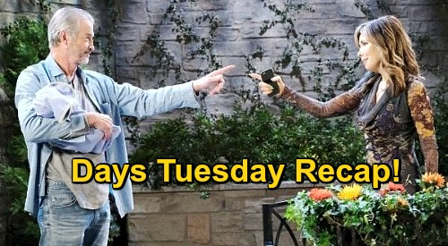 Days of Our Lives Spoilers: Tuesday, October 27 Recap - Kate Finds Clyde With Henry - Marlena's Trouble With Evan