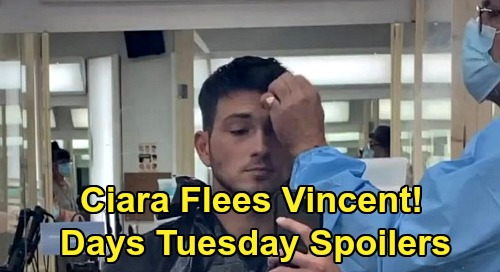 Days of Our Lives Spoilers: Tuesday, September 8 – Ciara Drugs Captor, Attacks & Flees – Jack & Shawn Learn Vincent's Secret