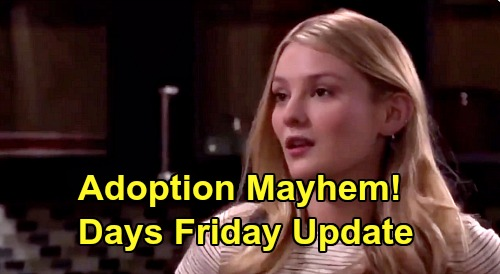 Days of Our Lives Spoilers Update: Friday, July 3 – Rafe's Adoption Answer – Jake Freaks Over Vivian's Love – Gabi's New Ally