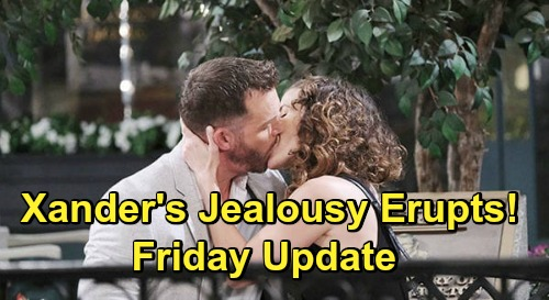 Days of Our Lives Spoilers Update: Friday, June 12 – Xander's Jealousy Erupts – Claire Tricks Marlena & John – Ciara Grills Lying Brady