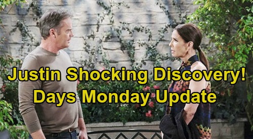 Days of Our Lives Spoilers Update: Monday, July 6 – Xander's Sarah Substitute – Kayla's Awful Omen - Justin's Shocking Discovery