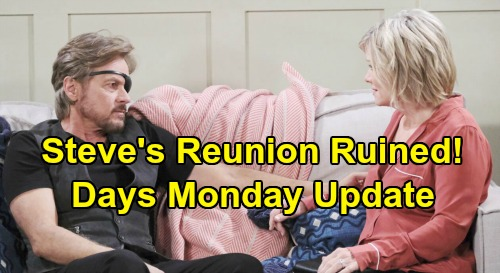 Days of Our Lives Spoilers Update: Monday, June 1 – Steve's Reunion Ruined – Rafe's Terrible News - Will & Sonny's Adoption