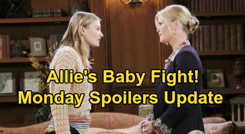 Days of Our Lives Spoilers Update: Monday, September 21 – Allie's Plan to Stop Sami – Jealous Shawn – Sarah & Xander Jan Trouble