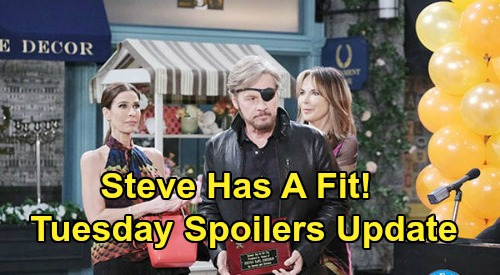 Days of Our Lives Spoilers Update: Tuesday, July 7 – Key to the City Ceremony – Hope's News Enrages Steve – Marlena's Urgent Advice