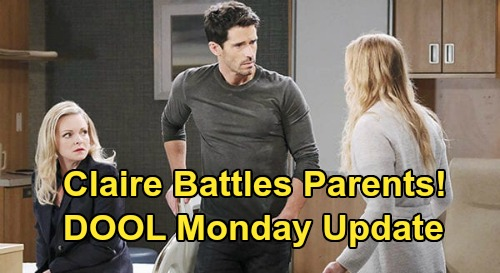 Days of Our Lives Spoilers Update: Tuesday, June 9 – Ben's Impossible Choice – Will & Sonny Turn to Abe – Claire Fights Belle & Shawn