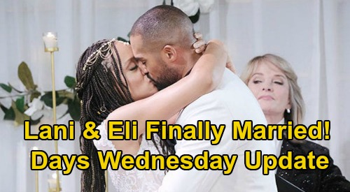 Days of Our Lives Spoilers Update: Wednesday, July 1 – Gabi Confirms Jake's DNA Says He's Stefan – Lani & Eli FINALLY Marry