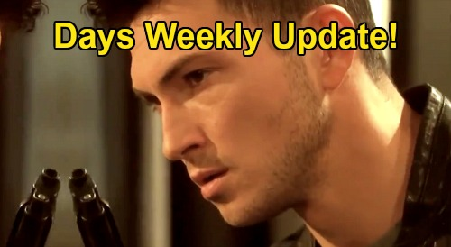 Days of Our Lives Spoilers Update: Week of October 12 – Lucas Threatens to Kill Tripp – Ben's Locked and Loaded, Vincent Beware