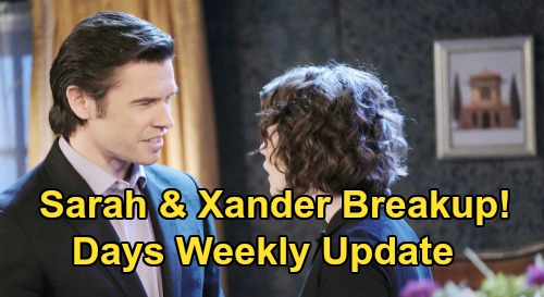 Days of Our Lives Spoilers Update: Week of September 28 – Ben Vows to Kill Vincent, Forces Confession – Sarah Threatens Xander Breakup