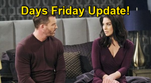 Days of Our Lives Spoilers Update: Friday, January 15 – Charlie & Tripp Face Off – Claire Sobs Over Two-Faced Boyfriend
