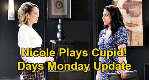 Days of Our Lives Spoilers Update: Monday, April 12 – Xander's Wild Wedding Night – Kristen Busts Sami – Nicole's Cupid Move