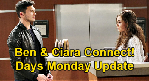 Days of Our Lives Spoilers Update: Monday, April 5 – Ben & Ciara's Hearts Tied Together – Jan's Sacrifice Scores Freedom
