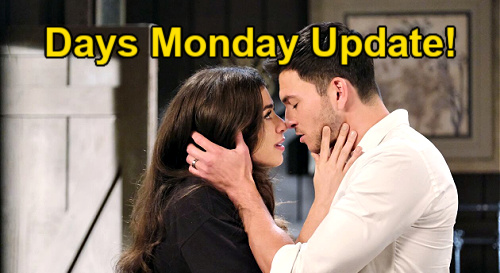 Days of Our Lives Spoilers Update: Monday, August 16 – Ciara & Ben's Passion Explodes – Theo Dumped – Jack Blasts Xander