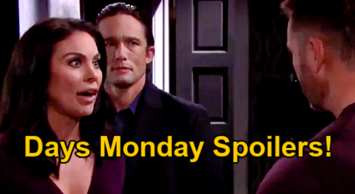 Days of Our Lives Spoilers Update: Monday, January 18 – Xander's Baby Swapper Past Haunts – Charlie's Meltdown – Chloe Explodes at Brady