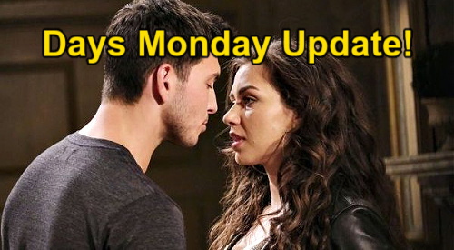 Days of Our Lives Spoilers Update: Monday, July 12 – Chad's Letter – Ciara Goes to War with Ben – Julie's Dead Body Questions