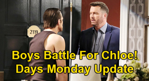 Days of Our Lives Spoilers Update: Monday, June 14 – Chad Sees Kate's Not Blind – Gabi's Setback – Brady & Philip's Chloe War