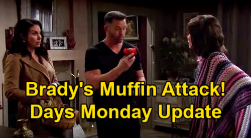 Days of Our Lives Spoilers Update: Monday, March 1 – Brady Faces Muffin Attack – Jennifer Calls Home with News
