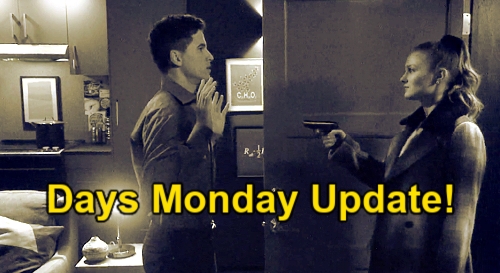 Days of Our Lives Spoilers Update: Monday, March 22 – Allie Murder Night Flashbacks – Rex Heartbreaking Blow - Goodbye Sarah
