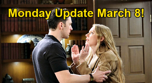 Days of Our Lives Spoilers Update: Monday, March 8 – Allie's Charlie Guilt - Chad Gets Abigail's Lie - Gwen Fears Injection