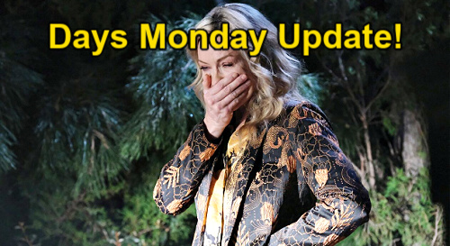 Days of Our Lives Spoilers Update: Monday, May 10 – Kristen Panics Over Bloody Brady – Paulina's Phone Call