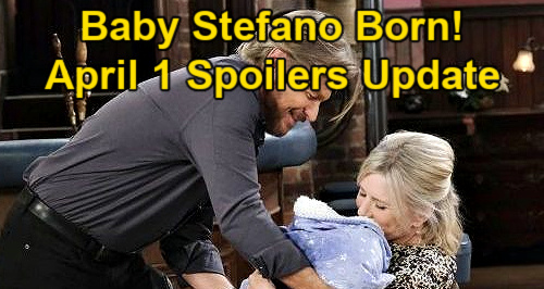 Days of Our Lives Spoilers Update: Thursday, April 1 – Chloe Is Dead – Sami Stabs Belle – Xander & Bonnie's Passion Erupts