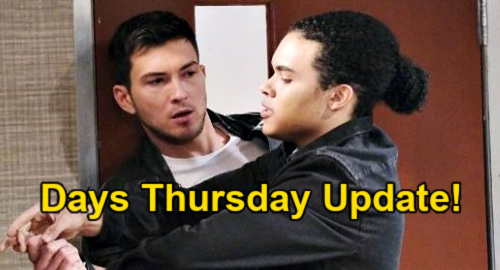 Days of Our Lives Spoilers Update: Thursday, April 15 – Theo Banishes Ben – Jake's Serum Plan Flops – Chloe Rips Into 'Susan'