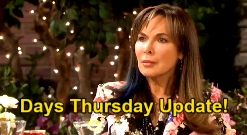 Days of Our Lives Spoilers Update: Thursday, April 22 – Claire Attacks Theo for Stealing Ciara – Kristen Targets Kate