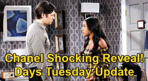 Days of Our Lives Spoilers Update: Tuesday, April 20 – Chanel Freaks Over Broke Hubby – Xander's Past Scares Paulina
