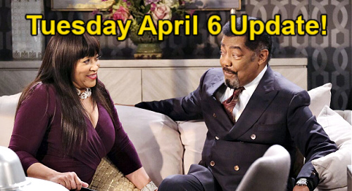 Days of Our Lives Spoilers Update: Tuesday, April 6 – Claire's Worst Nightmare – Theo Rejects Chanel – Flirty Paulina's Plan