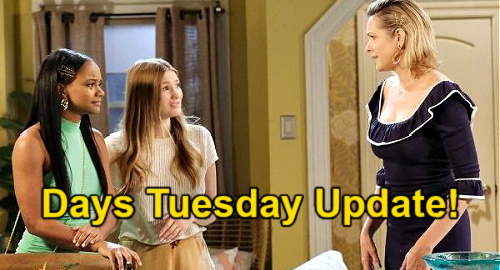 Days of Our Lives Spoilers Update: Tuesday, July 6 – Allie's Horrible News – Rafe's Dangerous Secret – Ben's Memory Setback