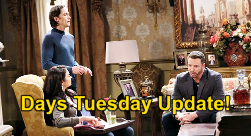 Days of Our Lives Spoilers Update: Tuesday, June 22 – Gwen & Xander's Corpse Problem, Dr. Snyder Disaster – Philip Tempts Chloe