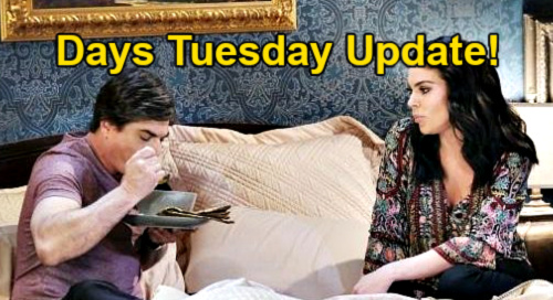 Days of Our Lives Spoilers Update: Tuesday, May 4 – Chad Betrays Abigail, Sides With Gwen – Chloe's Bedroom Delivery for Lucas