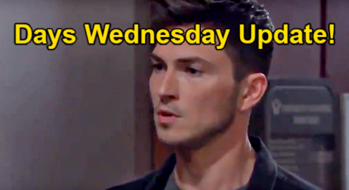 Days of Our Lives Spoilers Update: Wednesday, April 28 – Victoria Konefal & Cameron Johnson Final Airdate – Ben's Change of Heart