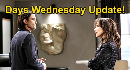 Days of Our Lives Spoilers Update: Wednesday, August 25 – Brady's Invitation Surprises Chloe – Gabi's Romantic Destruction