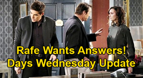 Days of Our Lives Spoilers Update: Wednesday, February 10 – Vivian & Ivan Arrested - Rafe Seeks Answers on Laura's Death