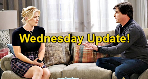 Days of Our Lives Spoilers Update: Wednesday, June 9 – Xander's Violent Outburst – Chanel's Mystery – Lucas' Plea to Torn Sami