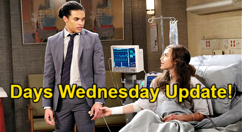 Days of Our Lives Spoilers Update: Wednesday, March 24 – Twins' Big Day - Dr. Rolf's Serum for Ciara
