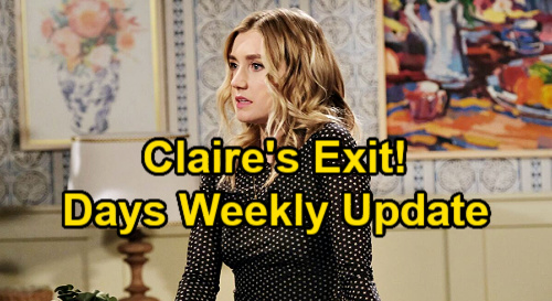 Days of Our Lives Spoilers Update: Week of August 16 – Gabi Finds Sami's Necklace – Claire's Goodbye – Johnny Flirts with Chanel