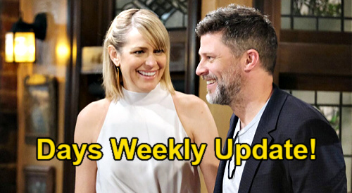 Days of Our Lives Spoilers Update: Week of July 12 – Brady's Party Date Surprise – Lucas & Philip Sabotage Sami