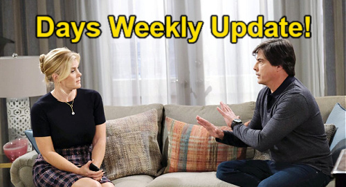 Days of Our Lives Spoilers Update: Week of July 19 – Ciara's Annulment Pushes Ben Over the Edge – Eric's Painful Goodbye