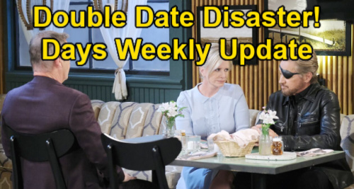 Days of Our Lives Spoilers Update: Week of June 14 – Bonnie Double Date Disaster – Paulina & Abe Steamy Kiss – Claire Confesses