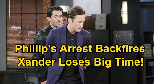 Days of Our Lives Spoilers: Victor Fires Xander - Philip's Arrest Comes Back To Bite, Threatens Sarah Relationship