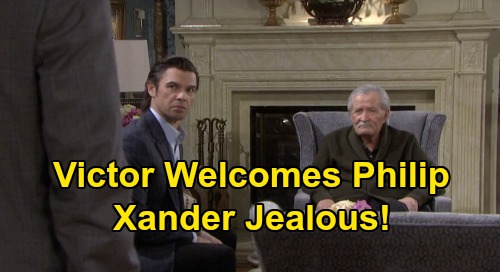 Days of Our Lives Spoilers: Victor Welcomes Phillip Back, Xander Jealous of Golden Boy's Return