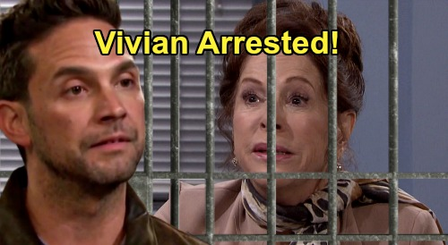 Days of Our Lives Spoilers: Vivian Arrested, Jake Can't Stay Away – Drawn to Stefan DiMera's Mom in Unsettling Visit