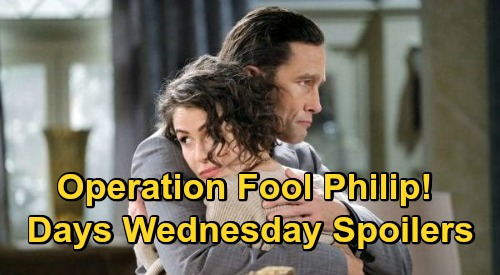 Days of Our Lives Spoilers: Wednesday, December 2 – Xander & Sarah's Fake Split – Allie's Terrible News - Charlie Busted