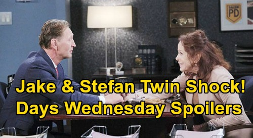 Days of Our Lives Spoilers: Wednesday, July 15 – Ivan Reveals Stefan & Jake Twin Shocker – Sami Freaks Over Allie's Pregnancy